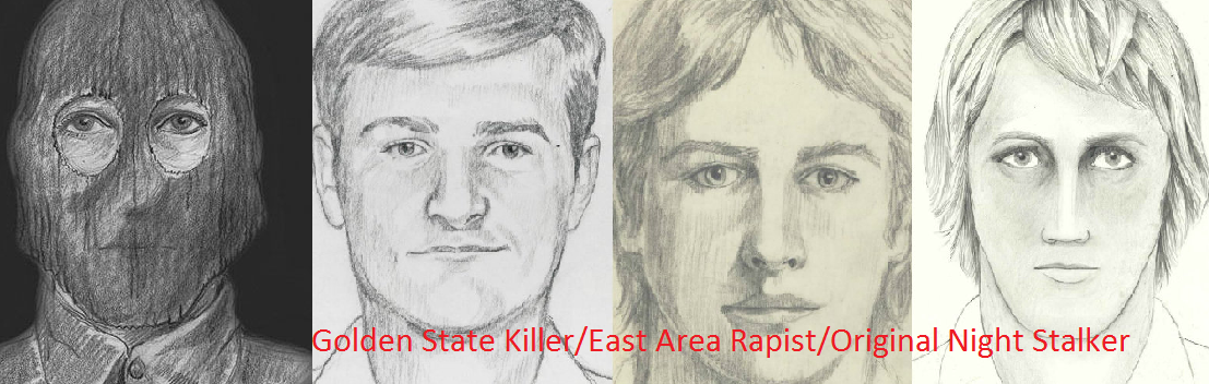Help ID the East Area Rapist / Original Night Stalker/ Golden State Killer